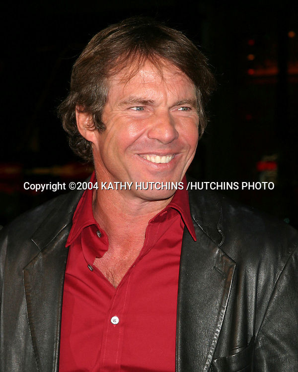 "©2004 KATHY HUTCHINS /HUTCHINS PHOTO.""IN GOOD COMPANY"" PREMIERE.GRAUMAN'S CHINESE THEATER .LOS ANGELES, CA.DECEMBER 6, 2004..DENNIS QUAID."
