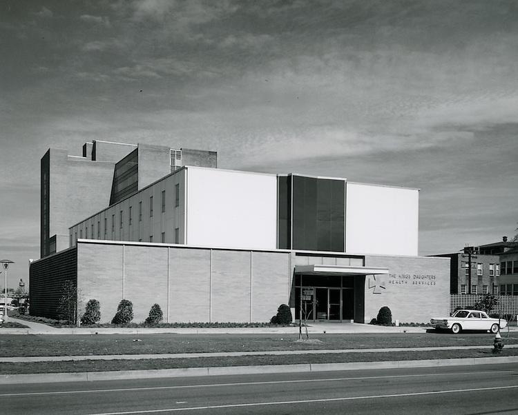 1962 April 10..Redevelopment.Atlantic City (R-1)..The Kings Daughters Health Services.Medical Center..HAYCOX PHOTORAMIC INC..NEG# C62-198-1.NRHA#..