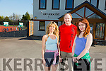 Lisa Horgan, Denis Daly and Kate McSweeney at An Riocht Castleisland
