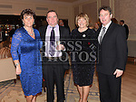 John and Mary O'Brien and Joe and Eileen Power pictured at the Ardee Traders annual awards night in the Nuremore Hotel. Photo:Colin Bell/pressphotos.ie