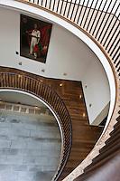 Europe/France/Aquitaine/64/Pyrénées-Atlantiques/Pays-Basque/Bayonne: Escalier du Musée Basque