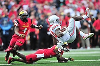 Maryland Terrapins vs. Ohio State Buckeyes, NCAA Football, October 4, 2014