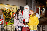 Enjoying the CH Chemist Customer Evening and meeting Santa on Friday were Alexandria Huynh and Jacky Coffey