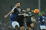 Marcin Wasilewski of Leicester City<br /> - Barclays Premier League - Everton vs Leicester City - Goodison Park - Liverpool - England - 19th December 2015 - Pic Robin Parker/Sportimage