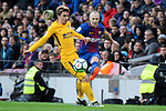 League Santander 2017/2018. Game: 28.<br /> FC Barcelona vs At. Madrid: 1-0.<br /> Antoine Griezmann vs Andres Iniesta.