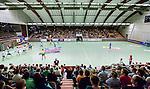 Stockholm 2014-09-18 Handboll Elitserien Hammarby IF - IFK Sk&ouml;vde :  <br /> Stockholm 2014-09-18 Handboll Elitserien Hammarby IF - IFK Sk&ouml;vde : <br /> Vy &ouml;ver Eriksdalshallen under matchen med publik p&aring; l&auml;ktarna mellan Hammarby och Sk&ouml;vdes i elitserien i handboll<br /> (Foto: Kenta J&ouml;nsson) Nyckelord: Eriksdalshallen Hammarby HIF HeIF Bajen IFK Sk&ouml;vde inomhus interi&ouml;r interior supporter fans publik supporters
