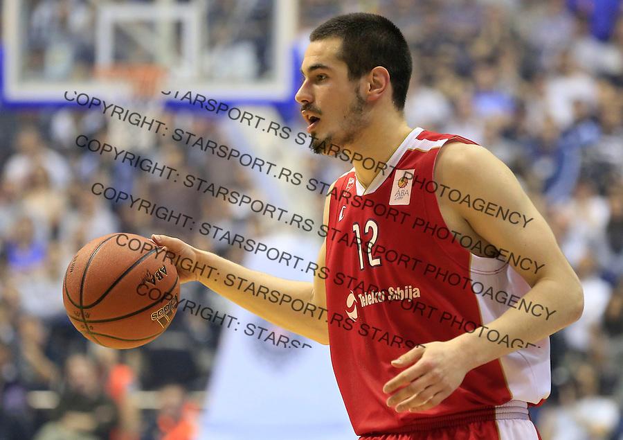 Kosarka ABA League season 2014-2015<br /> Play Off-Semifinals Polufinale Match 4<br /> Partizan v Crvena Zvezda <br /> Nikola Kalinic<br /> Beograd, 19.04.2015.<br /> foto: Srdjan Stevanovic/Starsportphoto&copy;