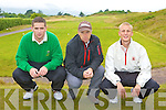 Eoin O'Driscoll, Dave Power Captain and Darren O'Sullivan Tralee that played Ballybunion in the Irish Senior Open West Munster section in Dooks on Saturday