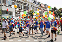 Nederland  Nijmegen  2016. De Vierdaagse van Nijmegen. Via Gladiola.  Foto Berlinda van Dam / Hollandse Hoogte