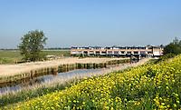 Nederland - Zaandam-  2020.  Nieuwbouw bij de weilanden, achter het station. Foto Berlinda van Dam / Hollandse Hoogte