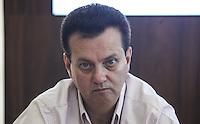 SAO PAULO, SP, 22 DEZEMBRO 2012 - O ministro do Esporte, Aldo Rebelo e o prefeito Gilberto Kassab (foto) assina na manha deste sabado, 22. um Protocolo de Intençoes entre o Ministerio do Esporte e a prefeitura de São Paulo para o desenvolvimento do esporte de alto rendimento da capital paulista, tendo como meta a Copa do Mundo FIFA 2014 e os Jogos Olimpicos e Paralimpicos Rio 2016. FOTO: VANESSA CARVALHO - BRAZIL PHOTO PRESS.