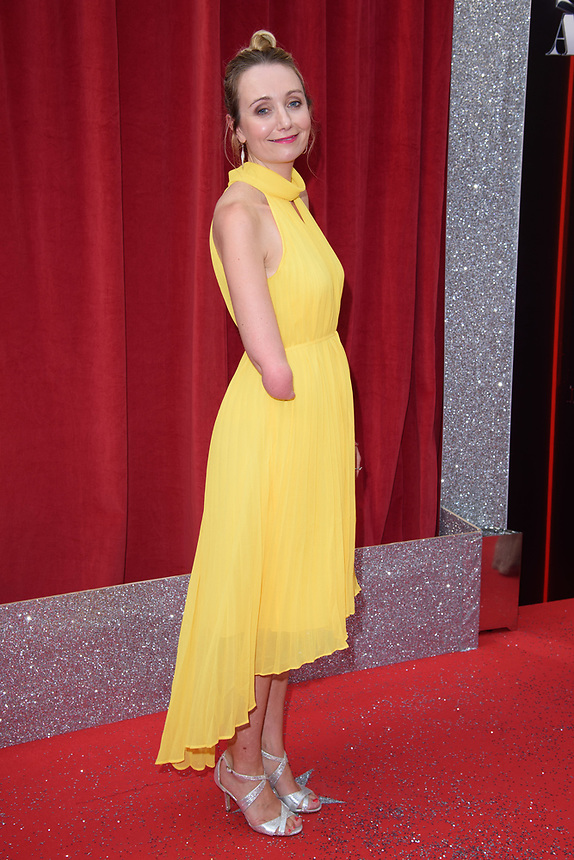 Cerrie Burnell<br /> arriving for the British Soap Awards 2018 at the Hackney Empire, London<br /> <br /> ©Ash Knotek  D3405  02/06/2018