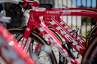 Trek-Segafredo team bikes ready for Stage 15: Valdengo › Bergamo (199km)<br /> <br /> 100th Giro d'Italia 2017