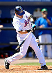 17 March 2007: New York Mets catcher Paul Lo Duca in action against the Washington Nationals on St. Patrick's Day at Tradition Field in Port St. Lucie, Florida...Mandatory Photo Credit: Ed Wolfstein Photo