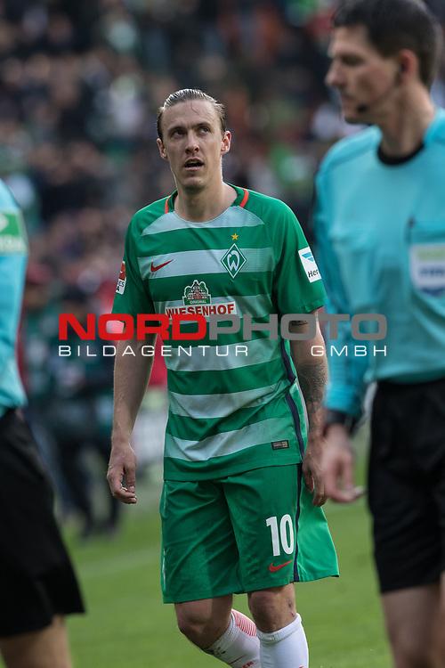 16.04.2017, Weser Stadion, Bremen, GER, 1.FBL, Werder Bremen vs Hamburger SV, im Bild<br /> <br /> Max Kruse (Bremen #10)<br /> <br /> Foto &copy; nordphoto / Kokenge