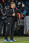 04.11.2019, Vonovia Ruhrstadion, Bochum, GER, DFL, 2. BL, VfL Bochum vs. 1. FC Nuernberg, DFL regulations prohibit any use of photographs as image sequences and/or quasi-video<br /> <br /> im Bild Thomas Reis (VfL Bochum)  Gestik / Geste / gestikuliert / <br /> <br /> Foto © nordphoto/Mauelshagen