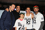 "Chris Kerson, Patrick Borriello, Nico Bustamante, William DeMeo, Paulie Malignaggi - Brooklyn, New York celebrates Actor William DeMeo's upcoming role in Gotti film in which he plays Sammy ""The Bull"" Gravano in a block party on May 23, 2018 along with cast.  (Photo by Sue Coflin/Max Photos)"