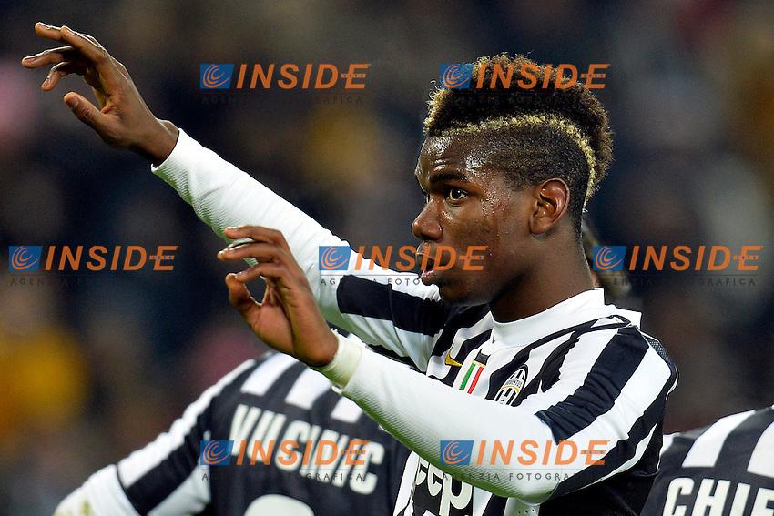 Paul Pogba Juventus <br /> Torino 05-01-2014 Juventus Stadium - Football Calcio Serie A 2013/2014 Juventus - As Roma Foto Andrea Staccioli / Insidefoto