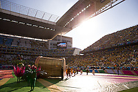 A general view of the Arena Corinthians during the opening ceremony