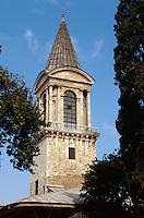 Türkei, Divan Kulesi (Turm der Gerechtigkeit)  im Topkapi Palast(Topkapi Saray) in Istanbul , UNESCO-Weltkulturerbe
