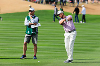Chris Stroud (USA) on the 9th fairway during the 3rd round of the Waste Management Phoenix Open, TPC Scottsdale, Scottsdale, Arisona, USA. 02/02/2019.<br /> Picture Fran Caffrey / Golffile.ie<br /> <br /> All photo usage must carry mandatory copyright credit (© Golffile | Fran Caffrey)