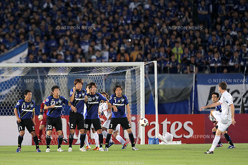 Gamba Osaka team group, MAY 24th, 2011 - Football : AFC Champions League 2011 Round 16, between Gamba Osaka 0-1 Cerezo Osaka at Expo 70 Stadium in Osaka, Japan. (Photo by Akihiro Sugimoto/AFLO SPORT) [1080]