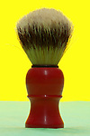 shaving brush still life