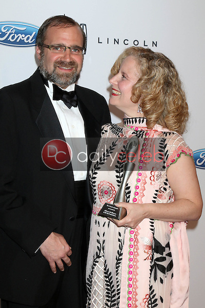 Grant Godfrey, MarySue Twohy<br /> at the 41st Annual Gracie Awards Gala, Beverly Wilshire Hotel, Beverly Hills, CA 05-24-16<br /> David Edwards/DailyCeleb.com 818-249-4998
