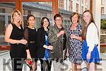 "Sinead Stack, Belen Garciafojo, Paula Duggan,Aine Corridan, Elish Leen and Bridget Leen at the ""Fashion Fusion"" in aid of Duggan Family House fire Appeal in the Fels Point Hotel on Saturday"