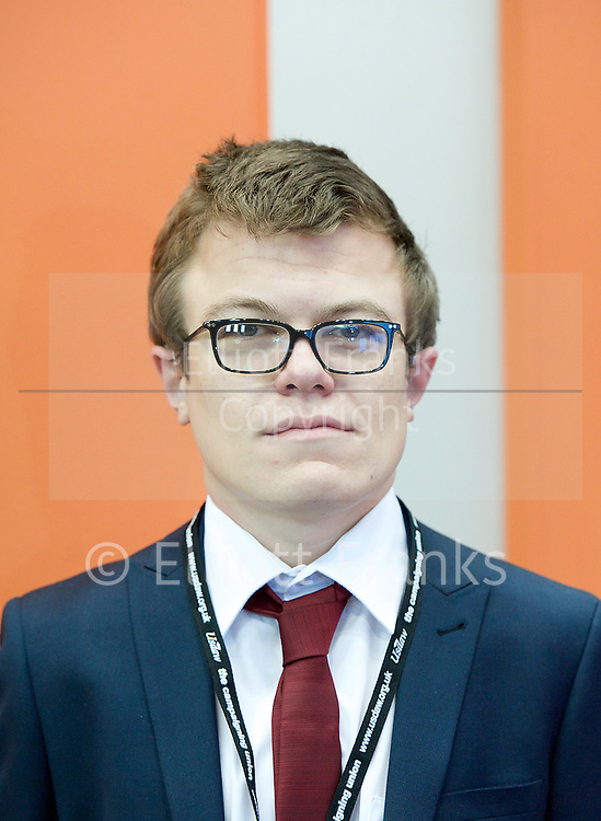 Labour Party Conference <br /> at Manchester Central, Manchester, Great Britain <br /> 23rd September 2014 <br /> <br /> Ben Cooper <br /> from Beverely &amp; Holderness <br /> <br /> Photograph by Elliott Franks <br /> Image licensed to Elliott Franks Photography Services