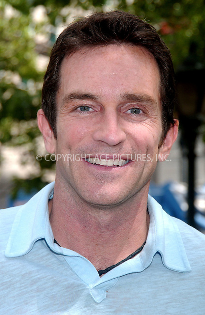 WWW.ACEPIXS.COM . . . . .....May 10, 2007. New York City....'Survivor' host Jeff Probst launches he Home Depot and MasterCard $100,000 Backyard Retreat Sweepstakes in Herald Square.....Please byline: Kristin Callahan - ACEPIXS.COM..... *** ***..Ace Pictures, Inc:  ..Philip Vaughan (646) 769 0430..e-mail: info@acepixs.com..web: http://www.acepixs.com