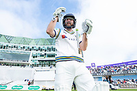 Picture by Allan McKenzie/SWpix.com - 20/04/2018 - Cricket - Specsavers County Championship - Yorkshire County Cricket Club v Nottinghamshire County Cricket Club - Emerald Headingley Stadium, Leeds, England - Adam Lyth comes out to bat.