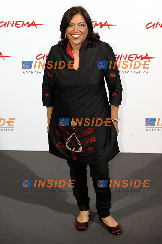 Mira Nair<br /> Third edition of the Rome International film festival<br /> Roma 23/10/2008 <br /> Photocall '8'<br /> Photo Andrea Staccioli Insidefoto