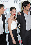 Kristen Stewart and Walter Salles at The AFI FEST 2012 On The Road Gala Screening held at The Grauman's Chinese Theatre in Hollywood, California on November 03,2012                                                                               © 2012 Hollywood Press Agency