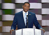 United States Representative Cedric Richmond (Democrat of Louisiana) makes remarks during the fourth session of the 2016 Democratic National Convention at the Wells Fargo Center in Philadelphia, Pennsylvania on Thursday, July 28, 2016.<br /> Credit: Ron Sachs / CNP<br /> (RESTRICTION: NO New York or New Jersey Newspapers or newspapers within a 75 mile radius of New York City)