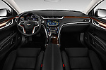 Stock photo of straight dashboard view of 2016 Cadillac XTS - 4 Door Sedan Dashboard