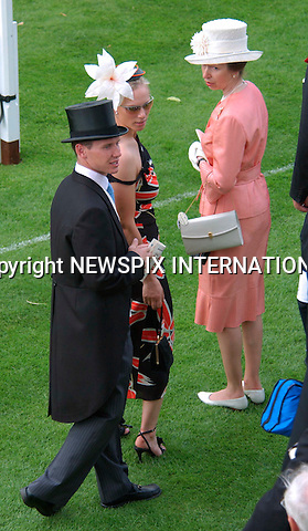 "ZARA PHILLIPS AND MIKE TINDALL ENGAGED.The Queen's eldest granddaughter Zara Phillips,29, and her long-term rugby player boyfriend Mike Tindall,32,are engaged to be married..A Buckingham Palace statement announced ""The Princess Royal and Captain Mark Phillips are pleased to announce the engagement of their daughter Zara Phillips to Mr Mike Tindall, son of Mr Phillip and Mrs Linda Tindall"".Zara, the 29-year-old daughter of Princess Anne and Captain Mark Phillips, has followed her cousin William in taking the plunge after a lengthy courtship..This is expected to be the second wedding by a member of the royal family after that of Prince William and Kate Middleton on 29th April 2011...Princess Anne and daughter Zara with Boyfriend Richard Johnson attend the 1st day of Royal Ascot  17/06/03.Mandatory Photo Credit: ©ALEXANDER DIAS/NEWSPIX INTERNATIONAL (Failure to credit will incur additional 100% surcharge)..Newspix International, 31 Chinnery Hill, Bishop's Stortford,ENGLAND CM23 3PS.Tel:+441279 757727  /  Fax: +441279 656877.Mobile: 07866360513.e-mail: photodesk.newspix@virgin.net..**MAY BE RETAINED IN FILE FOR FUTURE USE** ..** ALL FEES PAYABLE TO: NEWSPIX INTERNATIONAL **..Usage to be notified immediately..."