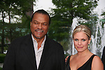 Night Shift's Billy Dee Williams and ATWT's Terri Conn at the Gala Awards Ceremony of the 2008 Hoboken International Film Festival which concluded with Billy Dee Williams being presented the Lifetime Achievement Award and then nominees and winners were announced on June 5, 2008 at Pier A Park, Hoboken, New Jersey.  (Photo by Sue Coflin/Max Photos)