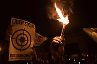 Velaton Nacional Rechazo Asesinato Lideres Sociales Colombia. Bogotá, 06-07-2018