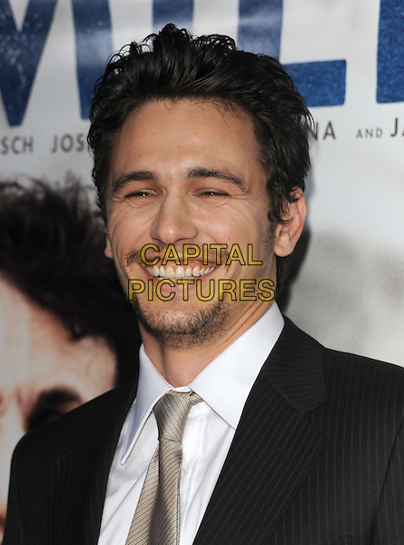 """JAMES FRANCO.The Focus Features L.A. Premiere of """"MILK"""" held at The Academy in Beverly Hills, California, USA. .November 13th, 2008                                                                     headshot portrait stubble facial hair.CAP/DVS.©Debbie VanStory/Capital Pictures."""