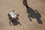 The Rhex Robot, short for robotic hexapod, demonstration is put on by Robert Playter of Boston Dynamics at the Robot Rodeo at Fort Benning in Columbus, Georgia, June 29, 2012...Kendrick Brinson/LUCEO