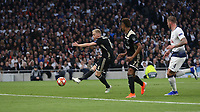 Donny van de Beer of Ajax scores his side's first goal  <br /> <br /> Photographer Rob Newell/CameraSport<br /> <br /> UEFA Champions League - Tottenham Hotspur v Ajax - Tuesday 30th April 2019 - White Hart Lane - London<br />  <br /> World Copyright © 2018 CameraSport. All rights reserved. 43 Linden Ave. Countesthorpe. Leicester. England. LE8 5PG - Tel: +44 (0) 116 277 4147 - admin@camerasport.com - www.camerasport.com