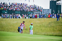 Tommy Fleetwood (ENG) approaches the 11th green during Thursday's round 1 of the 117th U.S. Open, at Erin Hills, Erin, Wisconsin. 6/15/2017.<br /> Picture: Golffile | Ken Murray<br /> <br /> <br /> All photo usage must carry mandatory copyright credit (&copy; Golffile | Ken Murray)
