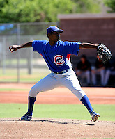 Alberto Albuquerque / Chicago Cubs 2008 Instructional League ..Photo by:  Bill Mitchell/Four Seam Images