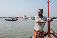 Rupsha River waterway