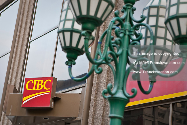 A CIBC branch office is pictured in Montreal Thursday October 25, 2012. The Canadian Imperial Bank of Commerce (in French, Banque Canadienne Imperiale de Commerce, and commonly CIBC in either language) is one of Canada's chartered banks, fifth largest by deposits.
