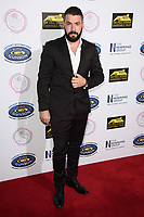 LONDON, UK. September 22, 2018: Shayne Ward at the Paul Strank Charitable Trust Annual Gala at the Bank of England Club, London.<br /> Picture: Steve Vas/Featureflash
