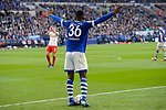 16.03.2019, VELTINS Arena, Gelsenkirchen, Deutschland, GER, 1. FBL, FC Schalke 04 vs. RB Leipzig<br /> <br /> DFL REGULATIONS PROHIBIT ANY USE OF PHOTOGRAPHS AS IMAGE SEQUENCES AND/OR QUASI-VIDEO.<br /> <br /> im Bild Breel Embolo (#36 Schalke)<br /> <br /> Foto © nordphoto / Kurth