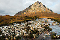 Buachaille Etive Mor and the River Coupall, Scotland