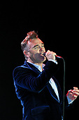 Morrissey performing live on Day Two on the Main Stage at the Reading Festival Berkshire UK - 28 Aug 2004.  Photo credit: Tony Woolliscroft / IconicPix